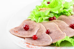 Beef tongue Royalty Free Stock Photography