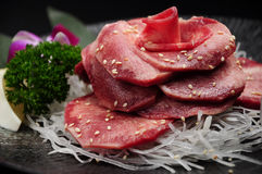 Beef tongue Royalty Free Stock Images