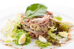 Beef Tongue Salad Stock Images