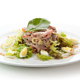 Beef Tongue Salad Stock Image
