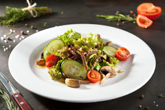 Beef Tongue Salad Royalty Free Stock Images