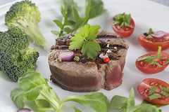 Beef tournedos Royalty Free Stock Photo
