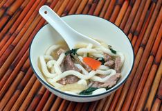 Beef Udon Noodle Soup Royalty Free Stock Image