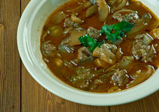 Beef or Veal Piccata Stock Images