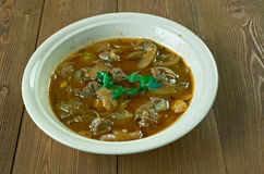 Beef or Veal Piccata Stock Image
