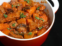Beef & Vegetable Casserole Royalty Free Stock Image
