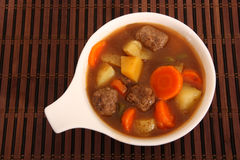 Beef and vegetable stew Stock Photos