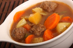 Beef and vegetable stew Stock Image