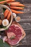 Beef and vegetable Stock Photos