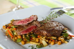 Beef with vegetables Stock Image
