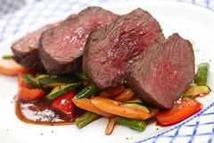 Beef with vegetables Royalty Free Stock Photography