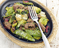 Beef and Vegetables Royalty Free Stock Photo