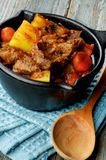 Beef and Vegetables Stew Royalty Free Stock Photos