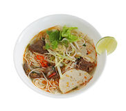 Beef Vermicelli  Noodle Royalty Free Stock Photos