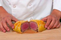 Beef Wellington Royalty Free Stock Photography