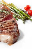 Beef on white Royalty Free Stock Photography