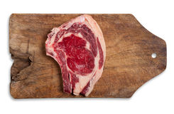 Beef on table, isolated. Stock Image