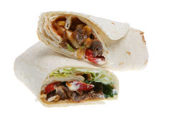 Beef Wrap Royalty Free Stock Image