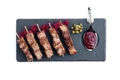 Beef yakitori Stock Image