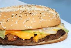 Beefburger Royalty Free Stock Photos