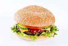 Beefburger Stock Image