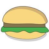 Beefburger del fumetto royalty illustrazione gratis