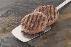 Beefburgers Stock Photos