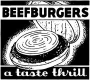Beefburgers Stock Images