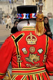 Beefeater costume Stock Image