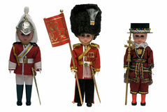 Beefeater-dolls Royalty Free Stock Photo