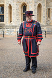 Beefeater at the Tower of London Royalty Free Stock Photography