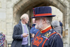 Beefeater at the Tower of London Stock Images