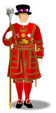 Beefeater Royalty Free Stock Photo