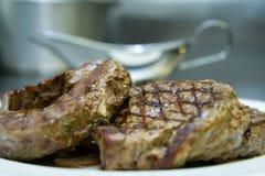 Beefstake royalty free stock photos
