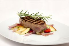 Beefsteak stockfoto