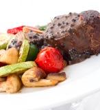 Beefsteak CloseUp Stock Photo
