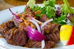 Beefsteak de Wagyu - estilo japonês imagens de stock