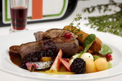 Beefsteak exótico Foto de Stock
