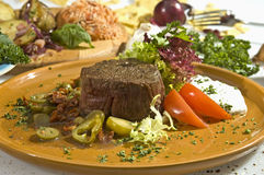 Beefsteak Mexican Style Stock Photography