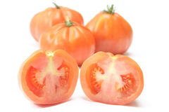 Beefsteak tomatoes Royalty Free Stock Photos