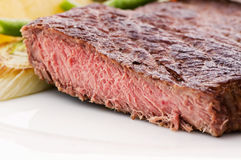 Beefsteak with Vegetable Royalty Free Stock Image