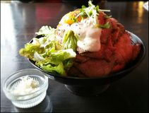 Beefy Bowl in Kobe Stock Photography