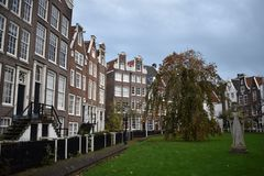 Beegijnhof στο Άμστερνταμ Στοκ Φωτογραφία