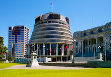 Beehive. The beehive called Parliament Building in Wellington 2010 Stock Photos