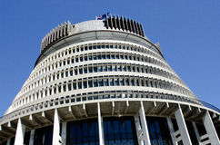 Parliament of New Zealand Stock Photo