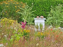 Beehive in a Garden in Island of Iona, Agyll and Bute, Scotland.UK