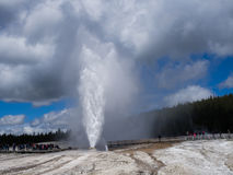 Beehive Geyser Royalty Free Stock Photography