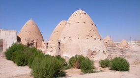 Beehive Homes. Traditional house. Syria Stock Images