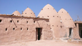 Beehive Homes. Traditional house. Syria Stock Image