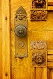 Beehive House Doorknob. The doorknob of Brigham Young's historic Beehive House in Salt Lake City, Utah Stock Images
